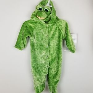 Eerie Alley Frog One Piece Hooded Halloween Outfit